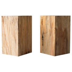 Modern Wood Side Tables