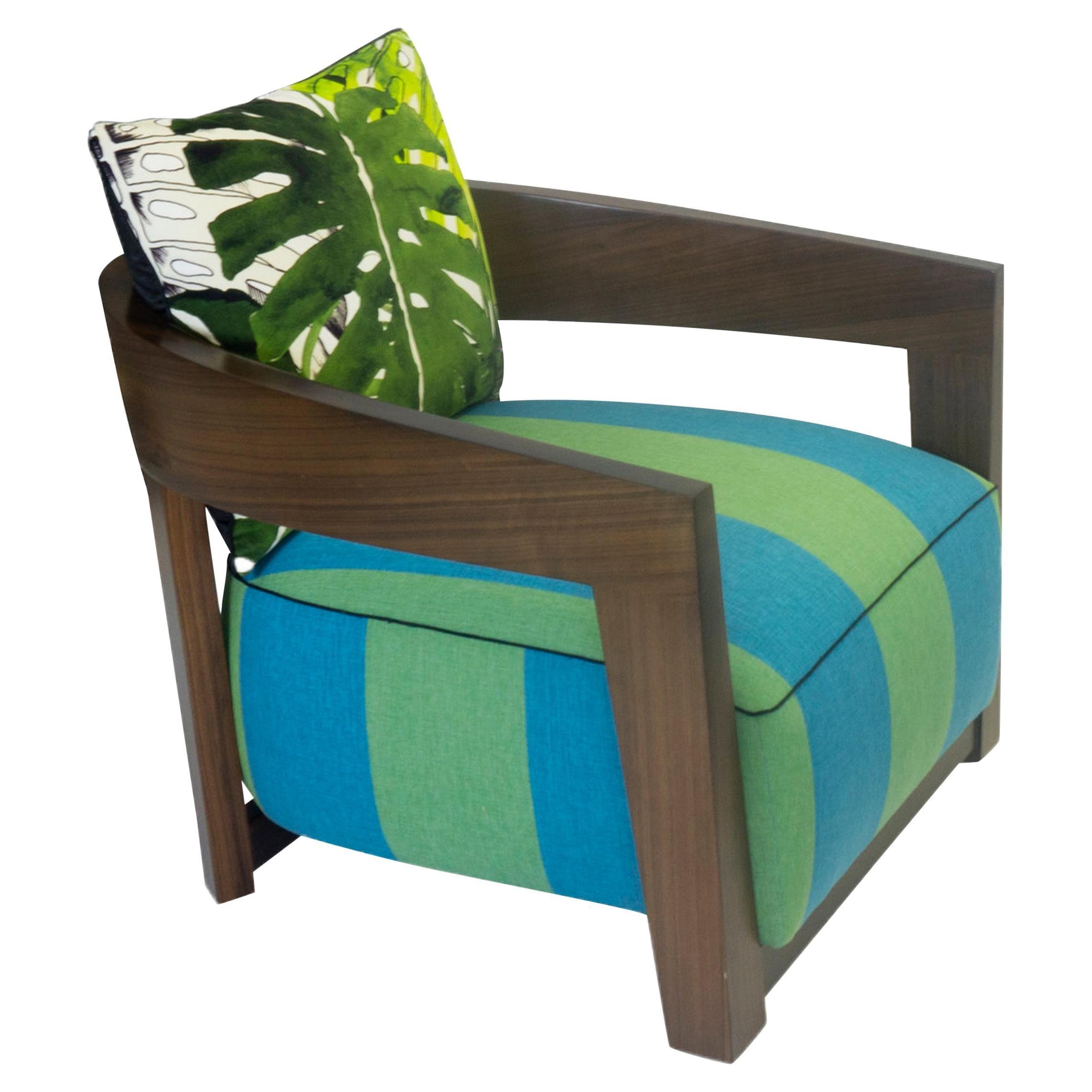 Modern Wooden Lounge Chair