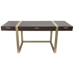 Modern Writing Desk with Three Drawers