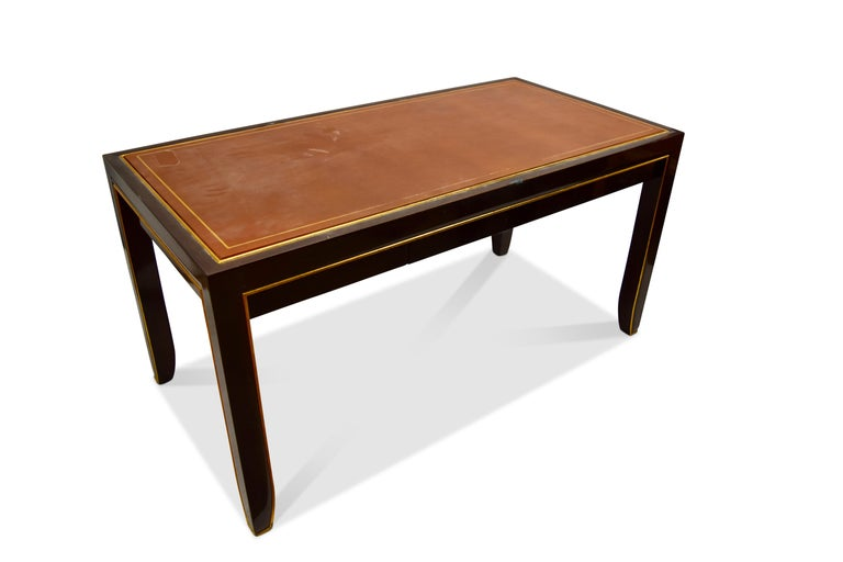 American Modern Writing Table, Signed John Boone For Sale
