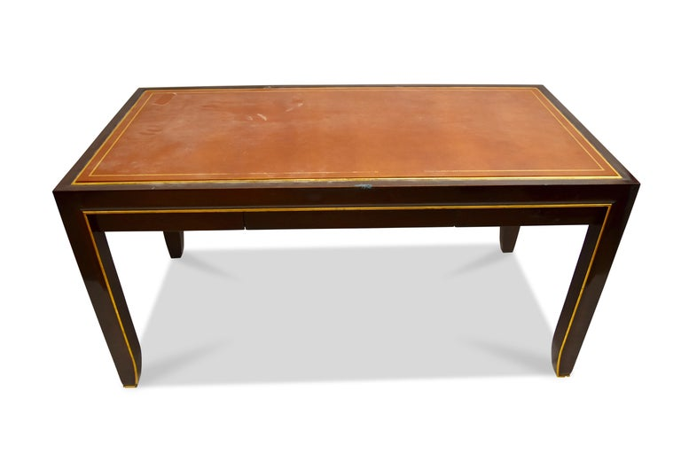 Contemporary Modern Writing Table, Signed John Boone For Sale