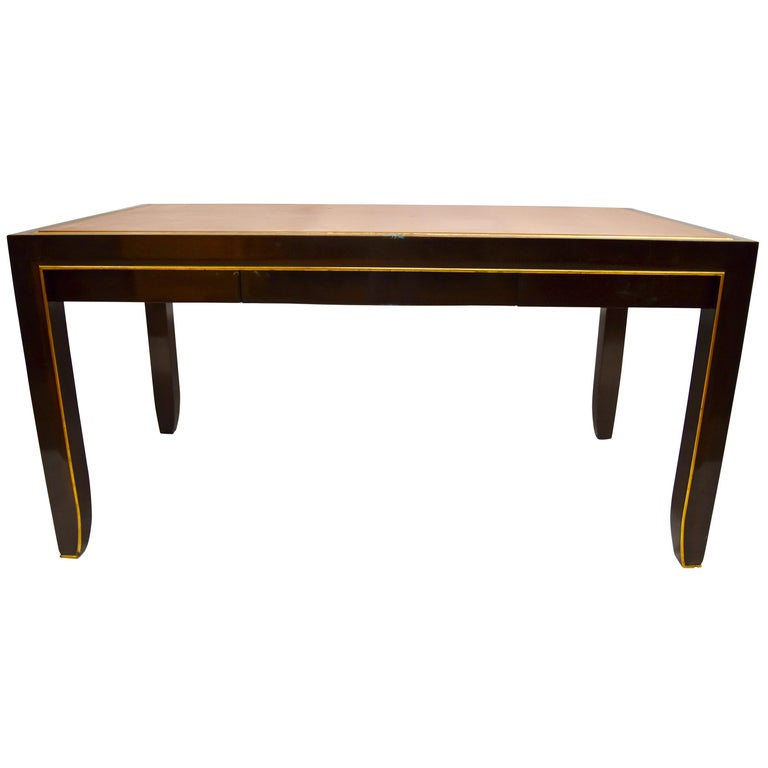 Modern Writing Table, Signed John Boone For Sale