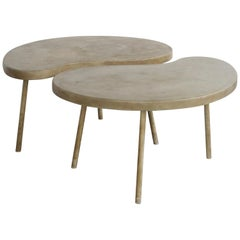 "Modern ""Ying Yang"" Coffee Table or Side Table"