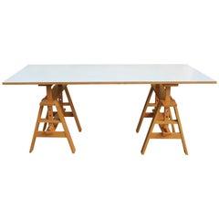"Modern Zanotta ""Leonardo"" Table by Achille & Pier Giacomo Castiglioni"