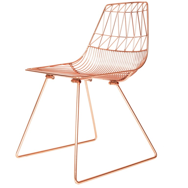 Modern Wire Ethel Dining Chair By Bend Goods For Sale At
