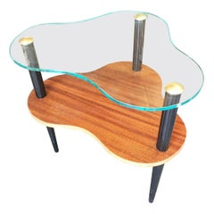 Modernage Two-Tier Midcentury Cloud Coffee Table