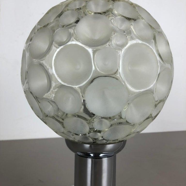 Modernist 1970s Sputnik Chromed Table Light by Honsel Lights Attributed, Germany For Sale 4