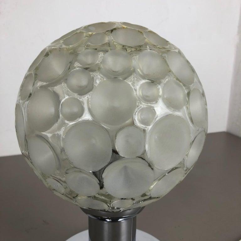 Modernist 1970s Sputnik Chromed Table Light by Honsel Lights Attributed, Germany For Sale 5