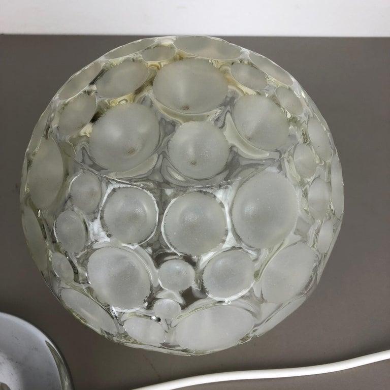 Modernist 1970s Sputnik Chromed Table Light by Honsel Lights Attributed, Germany For Sale 2