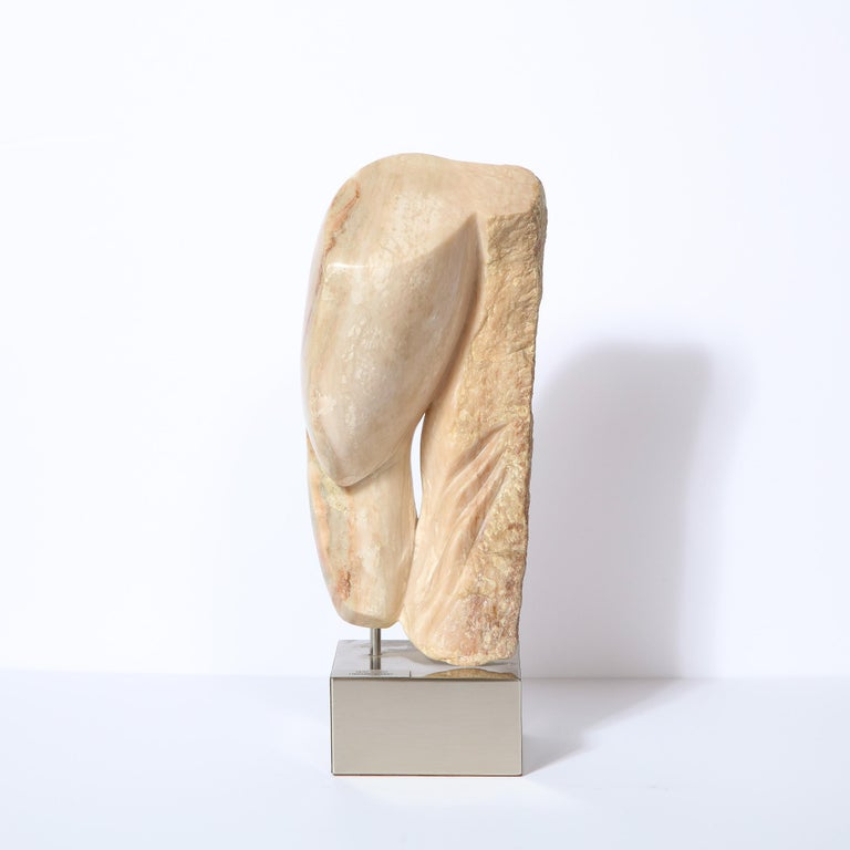 This refined modernist sculpture, entitled