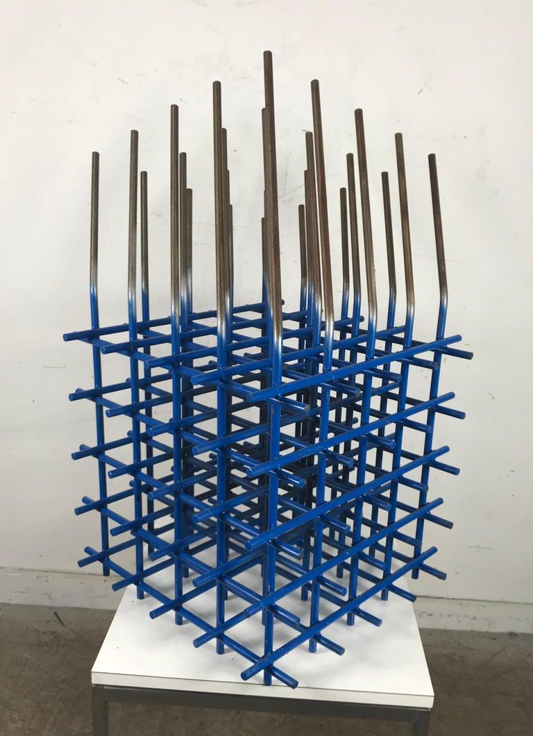 Mid-Century Modern Modernist Abstract Welded Steel Sculpture