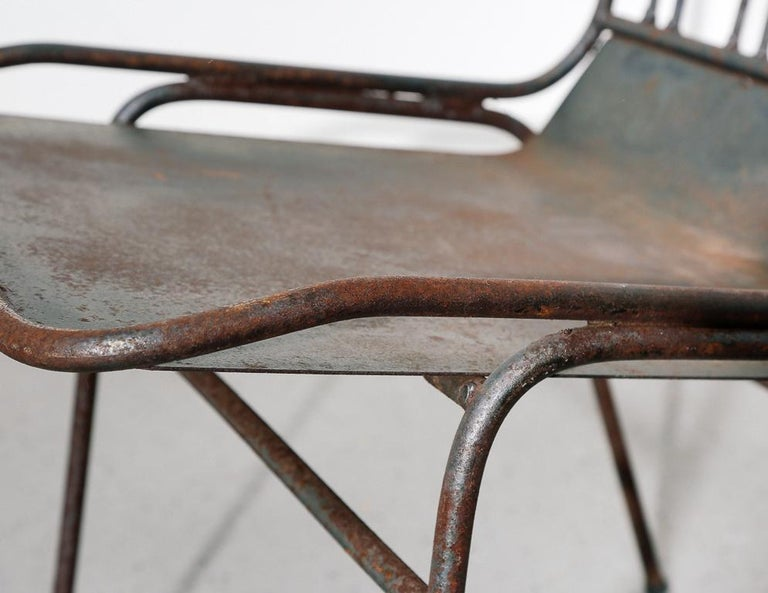 Modernist All-Steel Chair For Sale 3