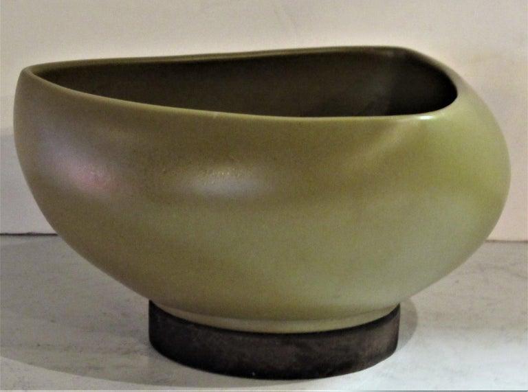 American Modernist Architectural Pottery Planter by John Follis