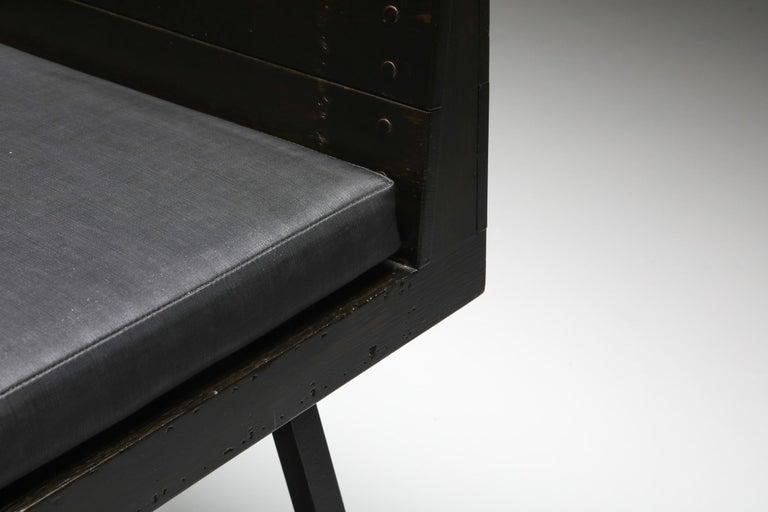 Modernist Armchair by Dom Hans Van Der Laan In Good Condition For Sale In Antwerp, BE