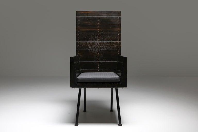 Mid-20th Century Modernist Armchair by Dom Hans Van Der Laan For Sale