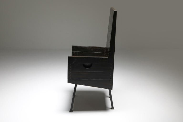 Copper Modernist Armchair by Dom Hans Van Der Laan For Sale