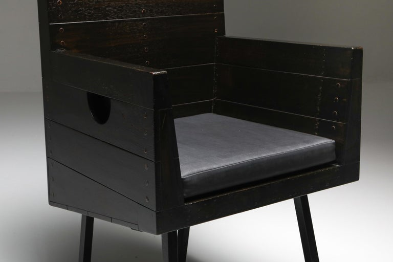 Modernist Armchair by Dom Hans Van Der Laan For Sale 1