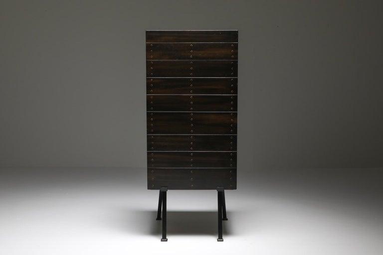 Modernist Armchair by Dom Hans Van Der Laan For Sale 2