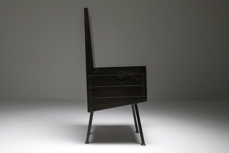 Modernist Armchair by Dom Hans Van Der Laan For Sale 3