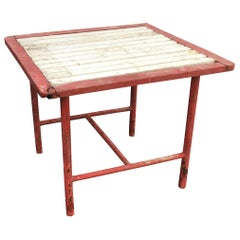 Modernist Art Deco Table in the Style of Robert Mallet Stevens