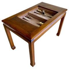Modernist Asian Style Backgammon Table