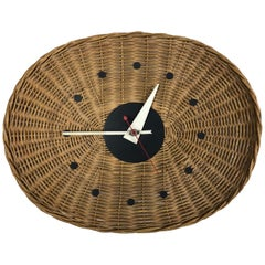 Modernist Basket Wall Clock by George Nelson & Irving Harper for Howard Miller