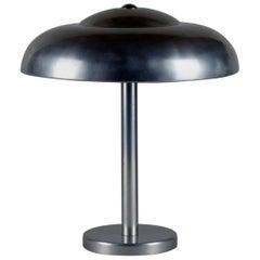 Modernist Bauhaus 1930s Aluminum Table Lamp in Style Wagenfeld, Dell, Brandt