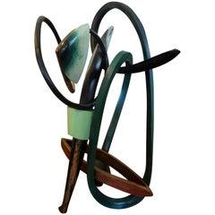 Modernist Bentwood Abstract Sculpture
