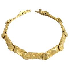 "Modernist Björn Weckström, Lapponia 18k Gold, Bracelet ""Reindeer Jotos"", Finland"