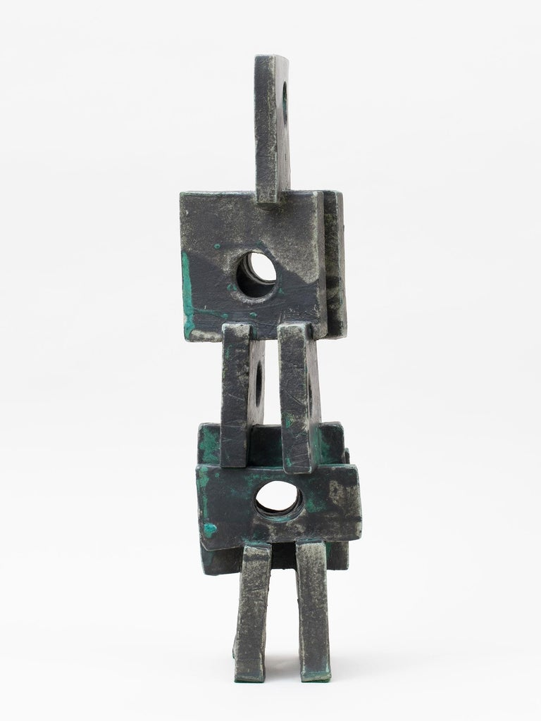Modernist Ceramic Sculpture by Judy Engel In New Condition In New York, NY