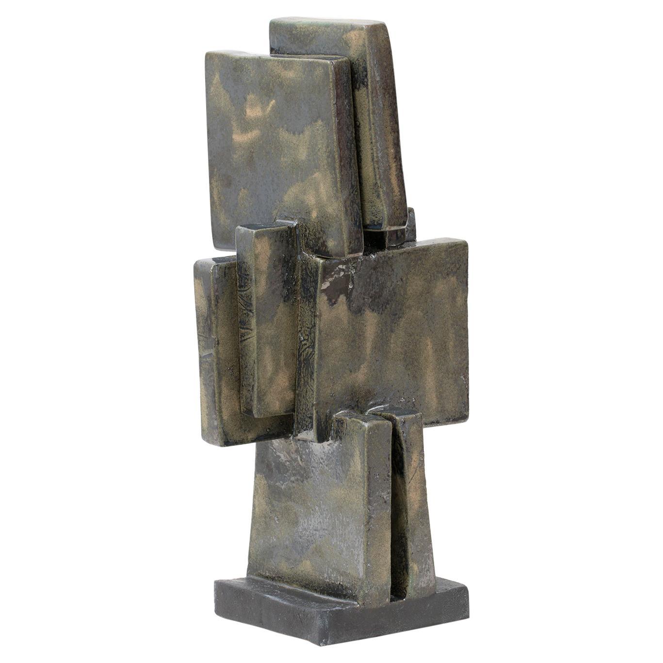 Modernist Ceramic Sculpture by Judy Engel