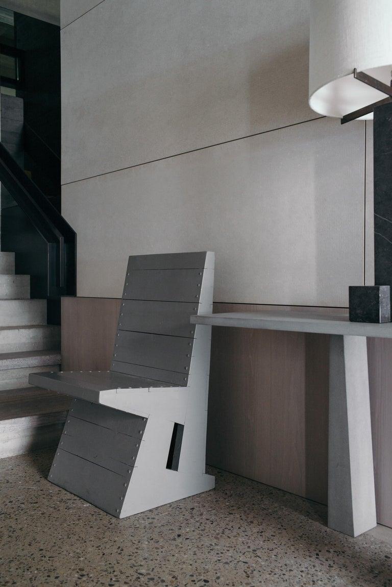 Modernist Chair by Dom Hans van der Laan For Sale 5