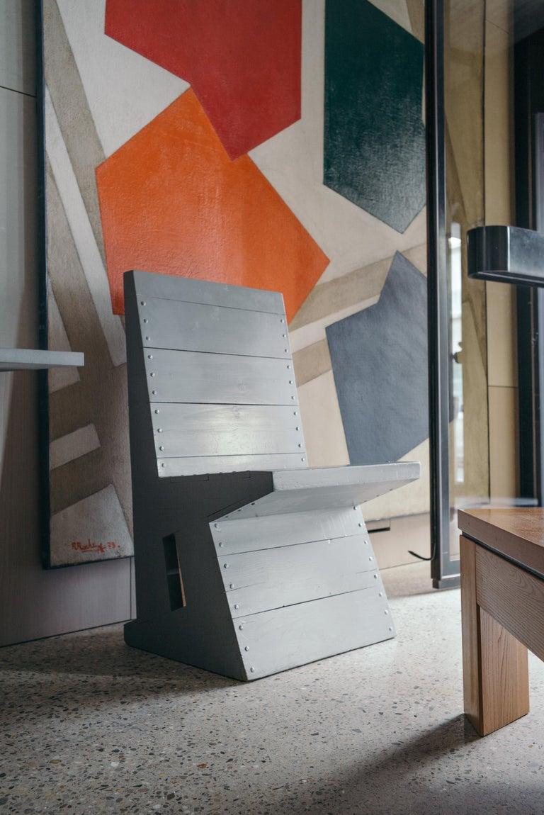 Modernist Chair by Dom Hans van der Laan For Sale 6