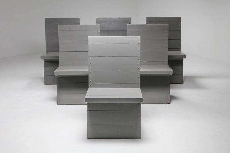 Mid-Century Modern Modernist Chair by Dom Hans van der Laan For Sale