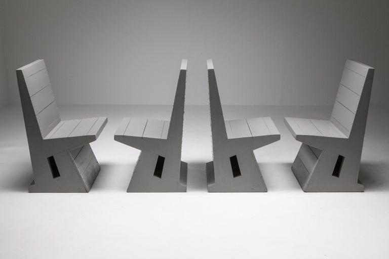 Modernist Chair by Dom Hans van der Laan For Sale 1