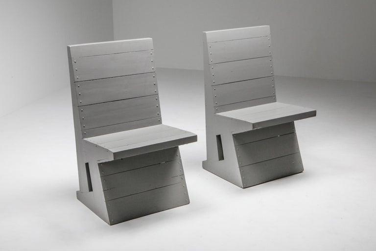 Modernist Chair by Dom Hans van der Laan For Sale 2