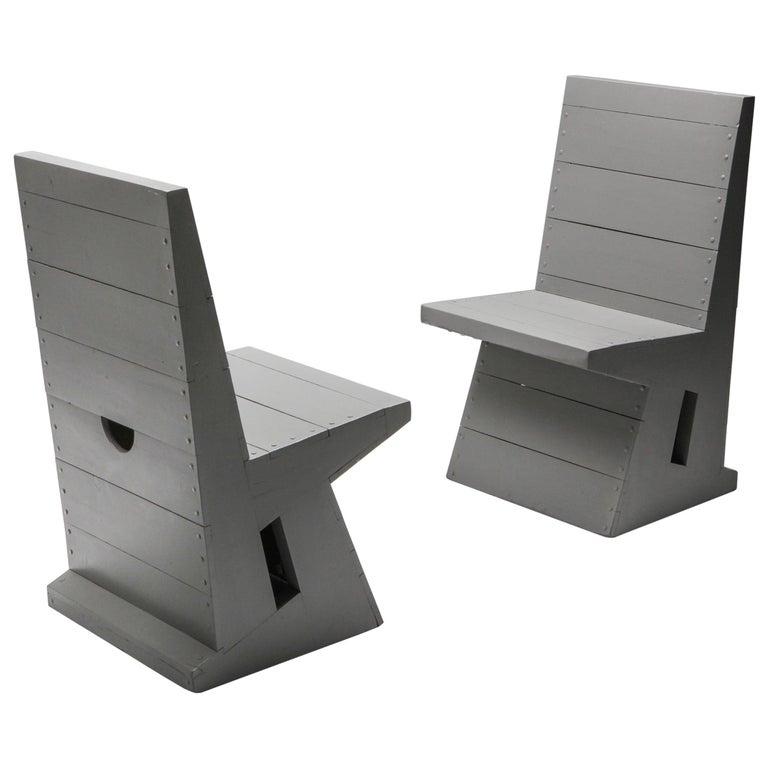 Modernist Chair by Dom Hans van der Laan For Sale
