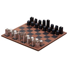 Modernist Chess Set #5606 by Carl Auböck