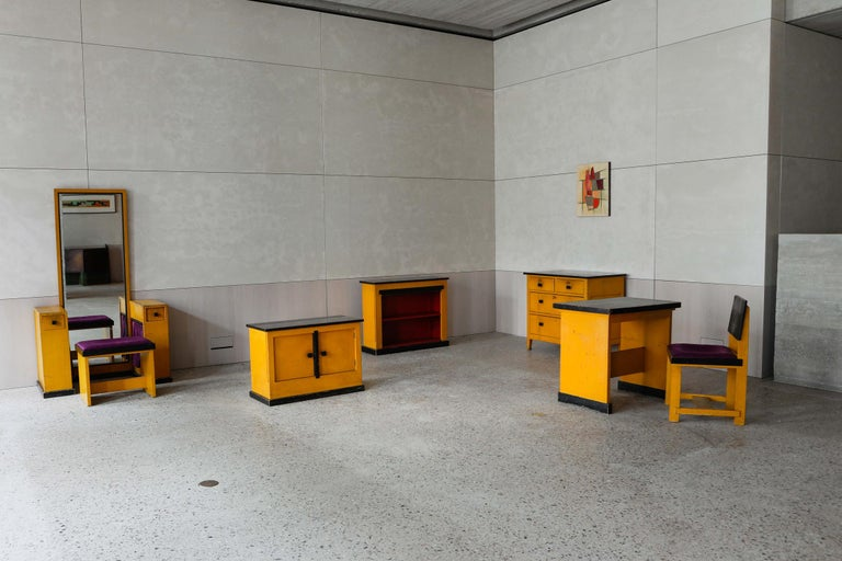 Modernist Chest of Drawers by Wouda, 1924 For Sale 5