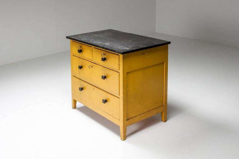 Dutch Modernist Chest of Drawers by Wouda, 1924 For Sale