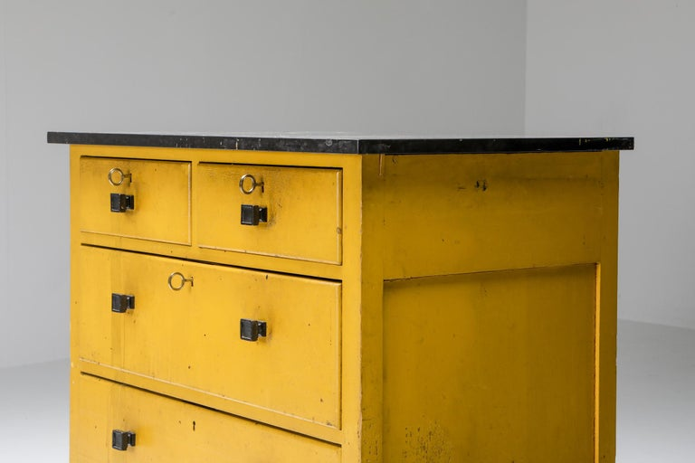 Early 20th Century Modernist Chest of Drawers by Wouda, 1924 For Sale