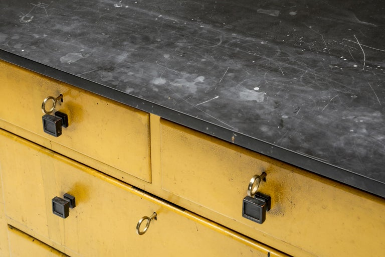 Pine Modernist Chest of Drawers by Wouda, 1924 For Sale