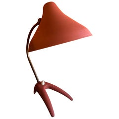 Modernist Claw Foot Desk Lamp by Louis Kalff for Phillips