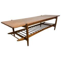 Modernist Coffee Table Leslie Diamond for Conant Ball, Scandinavian Design