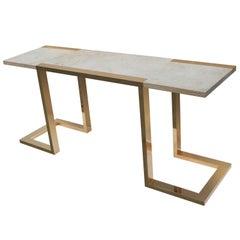 Modernist Console Table by Alfredo Freda