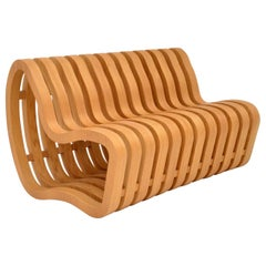 """Modernist """"Curve Bench"""" by Nina Moeller Designs"""