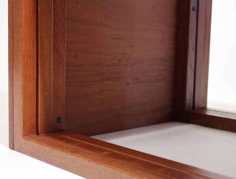 Modernist Danish Kai Kristiansen Teak Wood Modular Nesting Tables For Sale 4