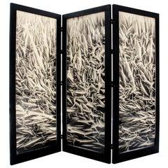 """Modernist Designer Palle Seiersen Frost """"Organic Screen"""""""