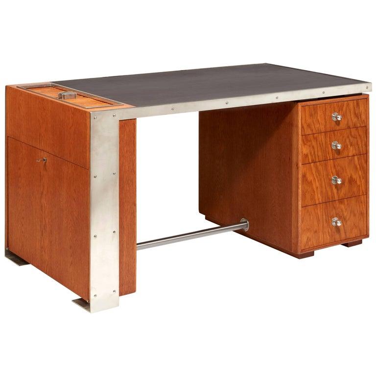 Paul Dupré-Lafon desk, ca. 1940, offered by Galerie Marcilhac