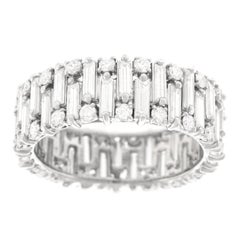 Modernist Diamond Eternity Band
